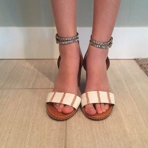 Coach Shoes - Coach size 10 leather Sandals